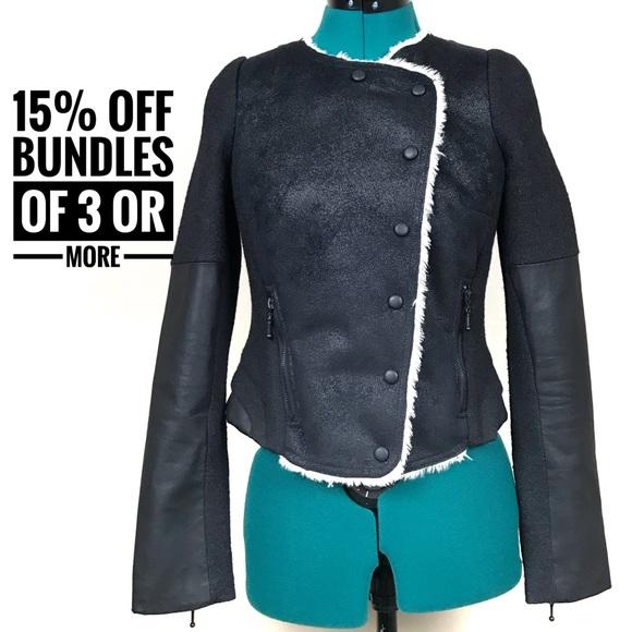 d83201de Zara Jackets & Coats | Asymmetrical Black Crop Jacket | Poshmark
